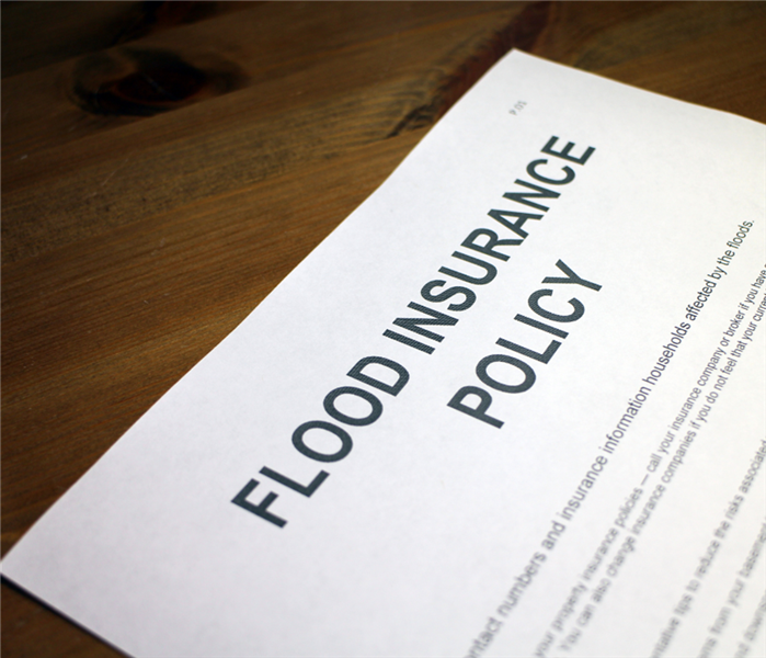Flood insurance paaperwork